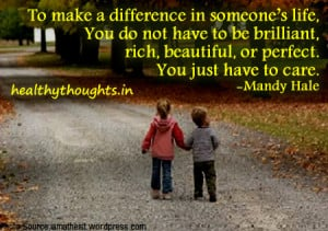 Work Make A Difference Quotes. QuotesGram