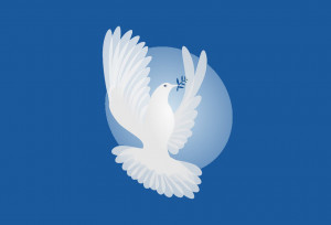 dove - Kahlil Gibran's parables of peace