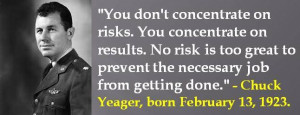 Chuck Yeager, born February 13, 1923. #ChuckYeager #FebruaryBirthdays ...