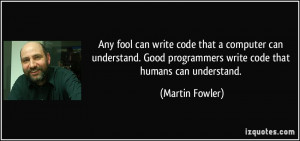 Write Code That a Computer Can Understand Good Programmers Write Code ...