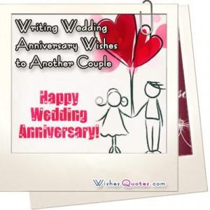 Writing Wedding Anniversary Wishes