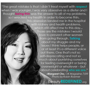 Margaret Cho Talking About Her Eating Disorder: