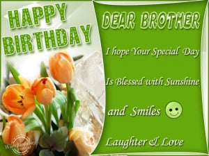 Happy Birthday Wishes For Brother Quotes Happy birthday quotes and