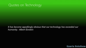 Technology Quotes - Windows 8 Review