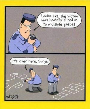 Dump Day Police Jokes