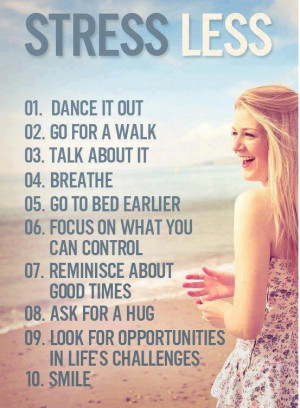 Tips to Come out of Stress
