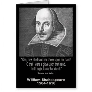 William Shakespeare Quote Greeting Card