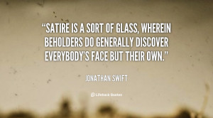 Jonathan Swift Satire Quote