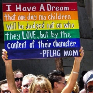 have a dream... #Gayrights
