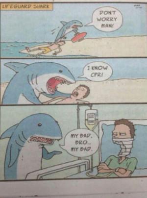 Lifeguard Shark – My bad bro