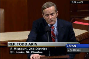 Todd Akin Abortion Quote