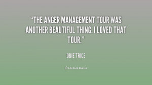 The Anger Management Tour was another beautiful thing. I loved that ...