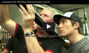 Marcel Hirscher und sein Ski http://voestalpine-wm-blog.at/2013/02/16 ...