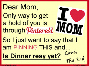 Dear Mom Quotes Mom and/or wife on pinterest?