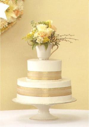 simple wedding cake facebook cover