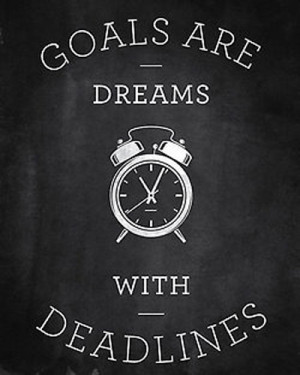 Your Goals Need To Inspire Your Choices