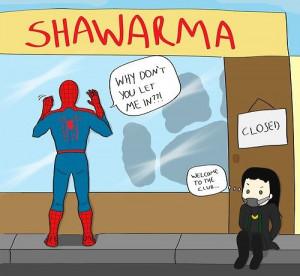Spider-Man Funny Arts