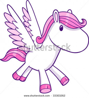 Vector Illustration Pegasus...