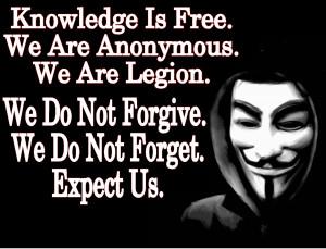 Anonymous divulga documentos secretos do governo dos EUA