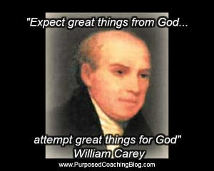World Evangelism Quotes – Expect from God William Carey