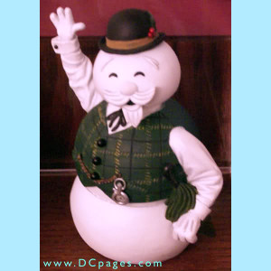 Burl Ives as Frosty the Snowman