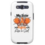 My Sister Fights Like a Girl Leukemia Galaxy S3 Cases