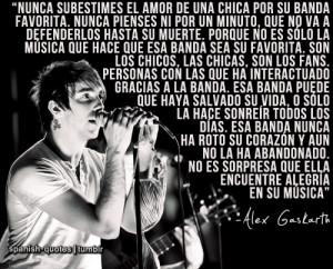 Alex Gaskarth Quotes Tumblr http://spanish-quotes.tumblr.com/post ...