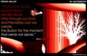 ... fonts fonts fonts fonts fonts we re born alone we live alone we die