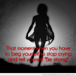 cute, girls, inspirational, love, pretty, quote, quotes, stop crying ...