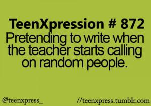 class, funny, school, teens