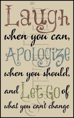 2886 * Laugh Apologize Let Go Stencil