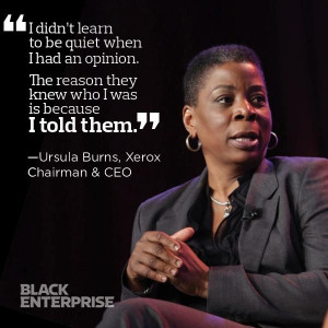 Ursula Burns, Xerox Chairman & CEO