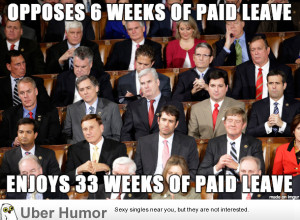 Congress Opposes 6 weeks of Paid Leave, yet enjoys 33 weeks of Paid ...
