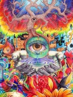 my mind more third eye eye open pink floyd invoker pink random trippy ...