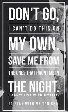 Sam Smith -- Stay With Me -- lyrics