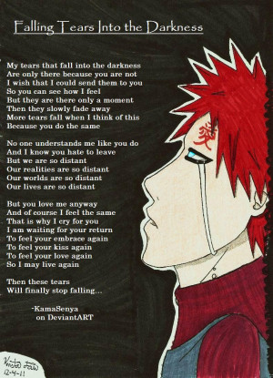 Go Back > Gallery For > Gaara Sad Quotes