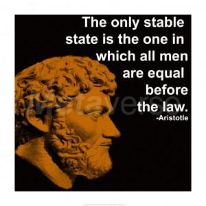Aristotle Quote art print