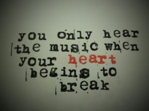 heartbreak, lyrics, music, my chemical romance, quotes