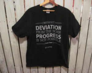 Frank Zappa Quote T-Shirt, Size L