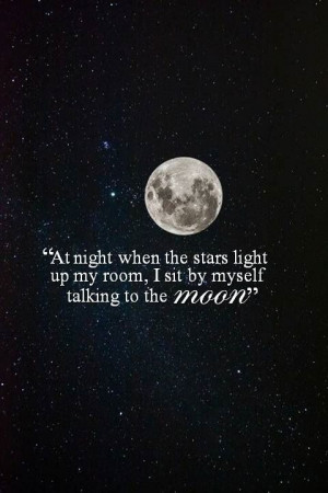 bruno mars quotes talking to the moon
