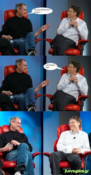 Bill Gates and Steve (Jobs part 2)