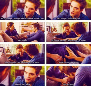 bella & edward, breaking down part1, lovely, movie quotes, quotes ...