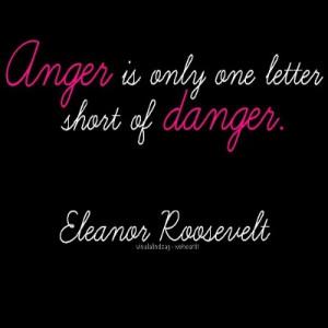 Eleanor Roosevelt Quote ~