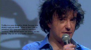 Dylan Moran on Vodka