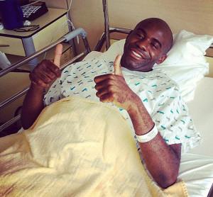 Fabrice Muamba I 39 ve been lucky to play football I thank God I 39 m
