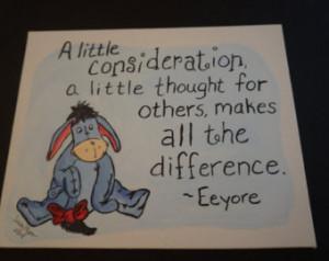 Eeyore hand painted canvas, Winnie the Pooh, acrylic, eeyore quote ...