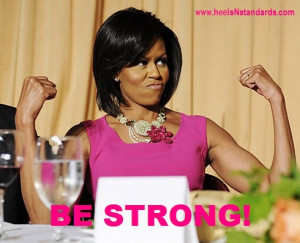 ... michelle obama in workout gear by michelle obama brainy quotes