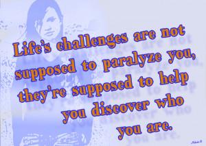 Life Challenge Quotes Image