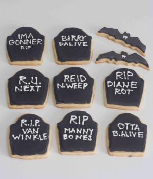 Funny Halloween Sayings And Phrases Halloween sugar cookies