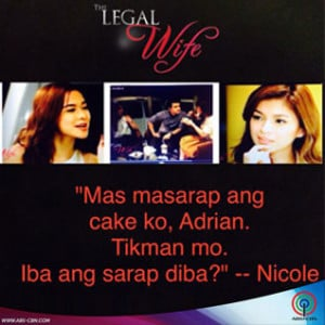 the legal wife quotable quotes